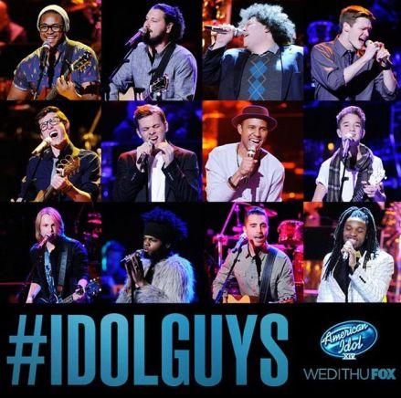 american idol 12 guys